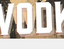 Logotype 'Ad Fundum Vodka'