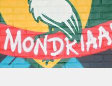 Mural 'ROC Mondriaan'