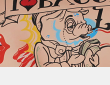 Art/Painting on pigs